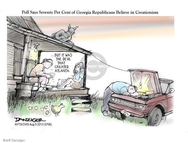 Cartoonist Jeff Danziger  Jeff Danziger's Editorial Cartoons 2013-08-11 republican