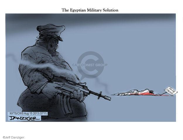 The Egyptian Military Solution. Arab Spring.