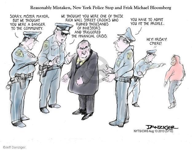 Jeff Danziger  Jeff Danziger's Editorial Cartoons 2013-08-13 financial crisis