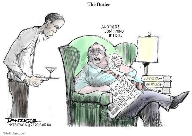 Cartoonist Jeff Danziger  Jeff Danziger's Editorial Cartoons 2013-08-22 chairman