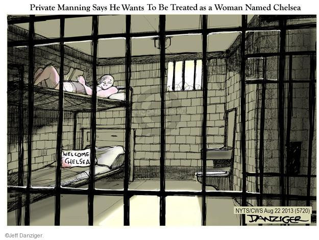 Cartoonist Jeff Danziger  Jeff Danziger's Editorial Cartoons 2013-08-22 women in military
