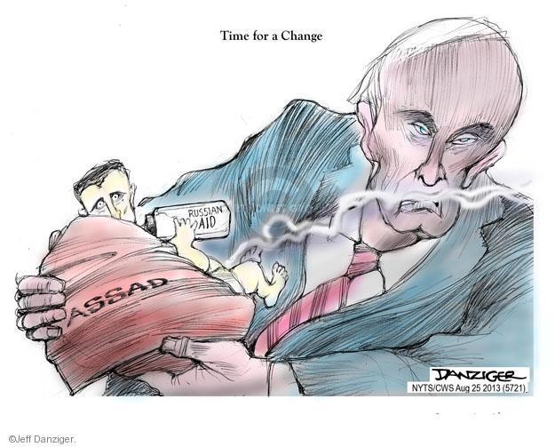 Cartoonist Jeff Danziger  Jeff Danziger's Editorial Cartoons 2013-08-25 uprising