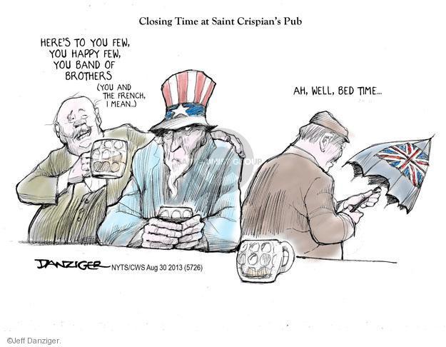 Jeff Danziger  Jeff Danziger's Editorial Cartoons 2013-08-30 United States