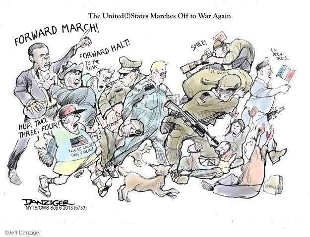 Jeff Danziger  Jeff Danziger's Editorial Cartoons 2013-09-06 United States
