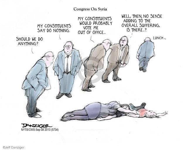 Jeff Danziger  Jeff Danziger's Editorial Cartoons 2013-09-08 United States