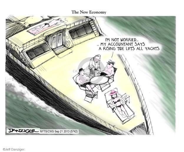 Jeff Danziger  Jeff Danziger's Editorial Cartoons 2013-09-21 yacht
