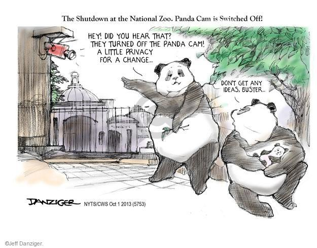 Cartoonist Jeff Danziger  Jeff Danziger's Editorial Cartoons 2013-10-01 ADD