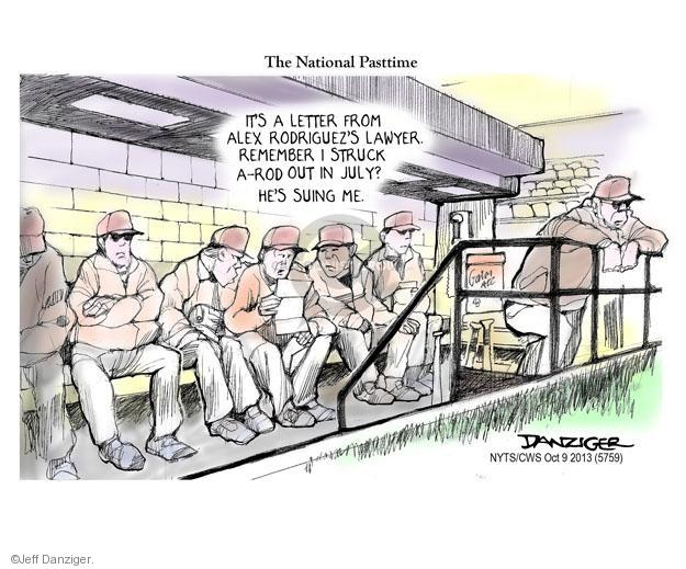 Cartoonist Jeff Danziger  Jeff Danziger's Editorial Cartoons 2013-10-09 letter