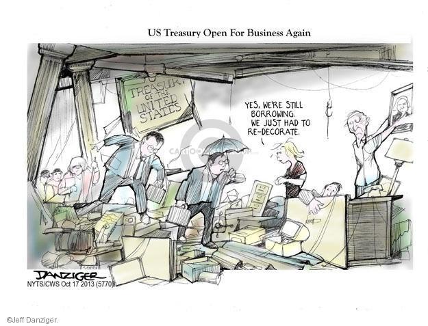 Cartoonist Jeff Danziger  Jeff Danziger's Editorial Cartoons 2013-10-21 authority