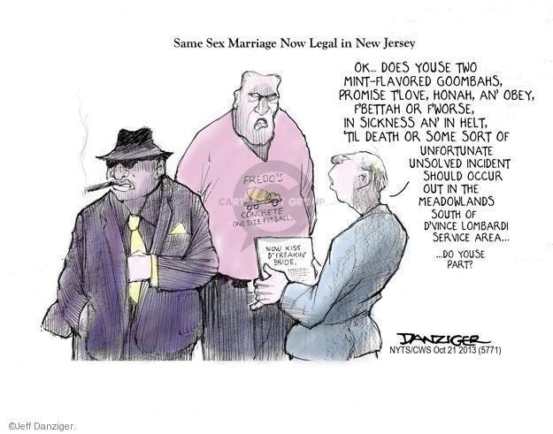 Cartoonist Jeff Danziger  Jeff Danziger's Editorial Cartoons 2013-10-21 kiss