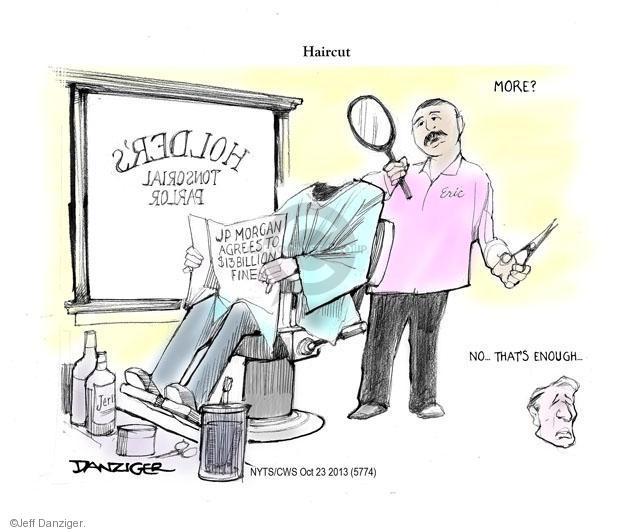 Jeff Danziger  Jeff Danziger's Editorial Cartoons 2013-10-23 mortgage