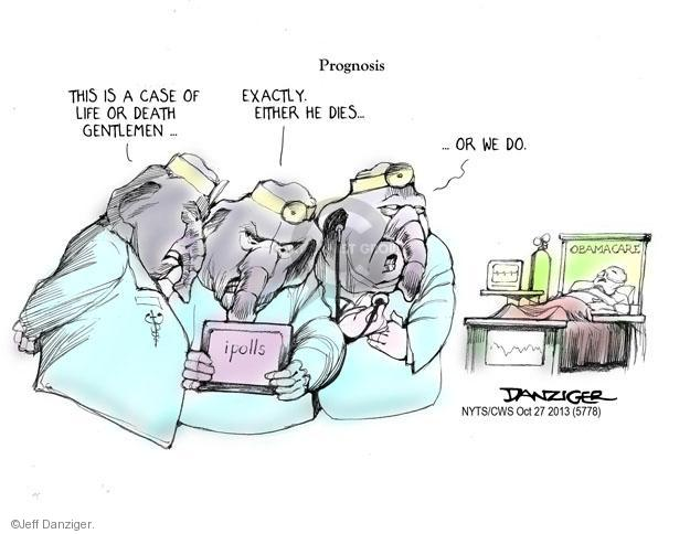 Cartoonist Jeff Danziger  Jeff Danziger's Editorial Cartoons 2013-10-27 republican politician