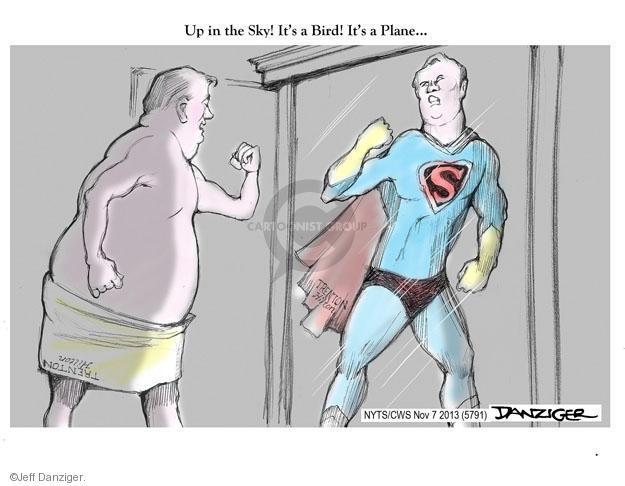 Cartoonist Jeff Danziger  Jeff Danziger's Editorial Cartoons 2013-11-07 victory