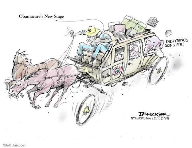 Cartoonist Jeff Danziger  Jeff Danziger's Editorial Cartoons 2013-11-09 republican politician
