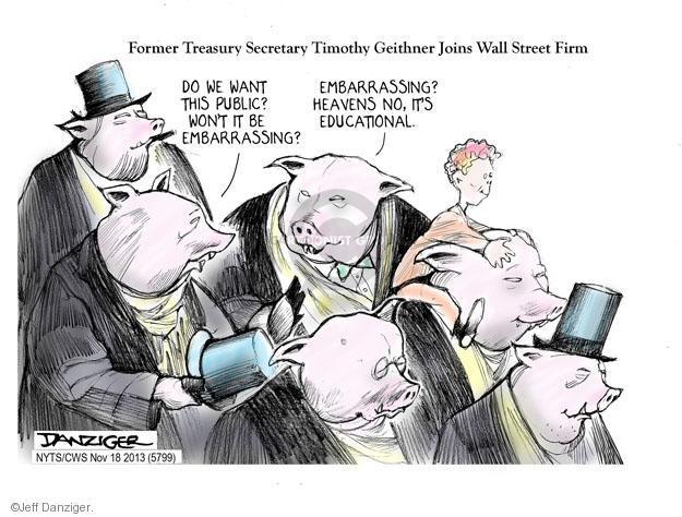 Cartoonist Jeff Danziger  Jeff Danziger's Editorial Cartoons 2013-11-18 do