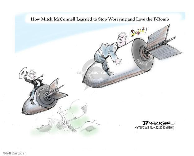 Cartoonist Jeff Danziger  Jeff Danziger's Editorial Cartoons 2013-11-22 republican politician