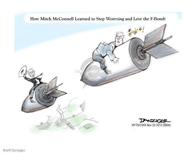 Cartoonist Jeff Danziger  Jeff Danziger's Editorial Cartoons 2013-11-22 majority minority