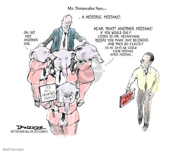 Cartoonist Jeff Danziger  Jeff Danziger's Editorial Cartoons 2013-11-25 republican politician