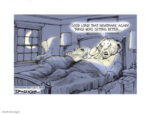 Cartoonist Jeff Danziger  Jeff Danziger's Editorial Cartoons 2013-12-01 party