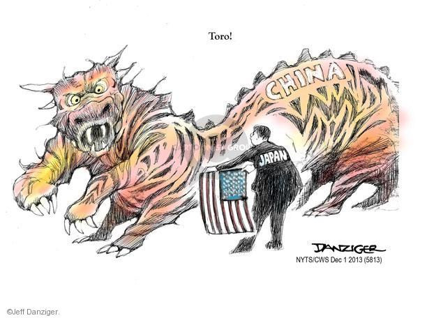 Cartoonist Jeff Danziger  Jeff Danziger's Editorial Cartoons 2013-12-01 flag