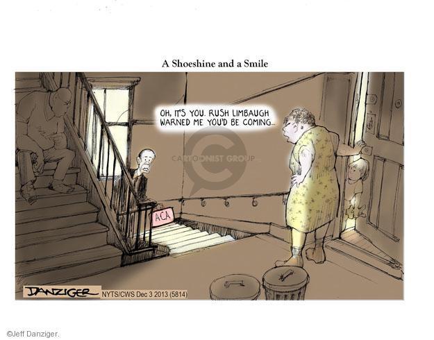 Cartoonist Jeff Danziger  Jeff Danziger's Editorial Cartoons 2013-12-03 Barack Obama