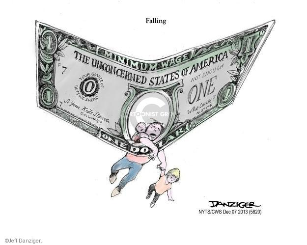 Cartoonist Jeff Danziger  Jeff Danziger's Editorial Cartoons 2013-12-08 poverty