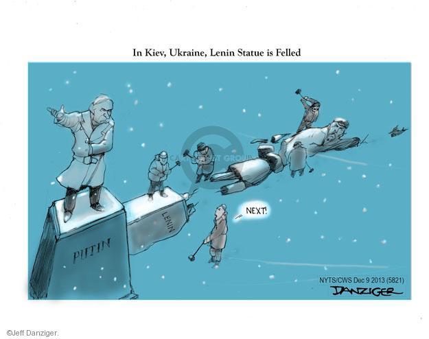 Cartoonist Jeff Danziger  Jeff Danziger's Editorial Cartoons 2013-12-09 association