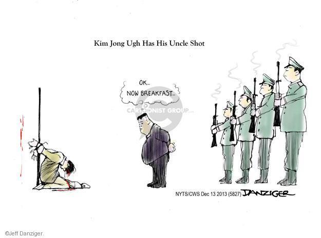 Cartoonist Jeff Danziger  Jeff Danziger's Editorial Cartoons 2013-12-13 leadership