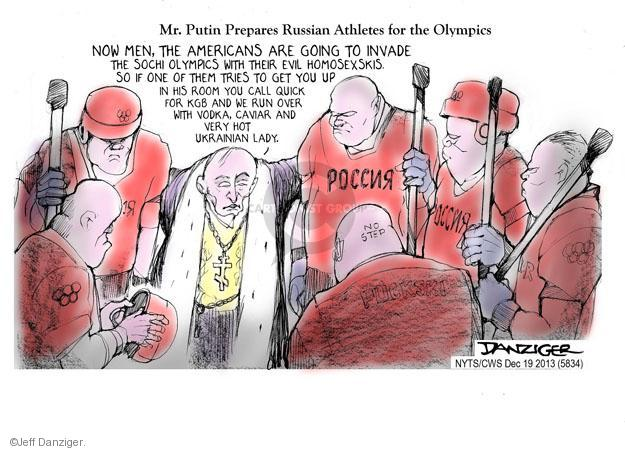 Cartoonist Jeff Danziger  Jeff Danziger's Editorial Cartoons 2013-12-19 American