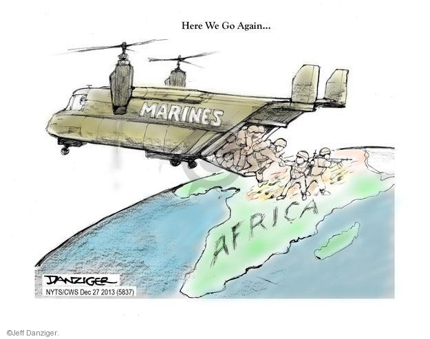 Cartoonist Jeff Danziger  Jeff Danziger's Editorial Cartoons 2013-12-26 American