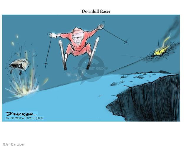 Cartoonist Jeff Danziger  Jeff Danziger's Editorial Cartoons 2013-12-30 suicide bomber