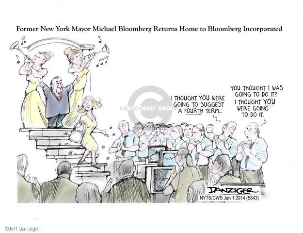 Jeff Danziger  Jeff Danziger's Editorial Cartoons 2014-01-01 businessman