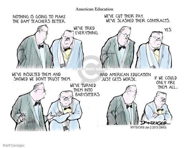 Cartoonist Jeff Danziger  Jeff Danziger's Editorial Cartoons 2014-01-02 American