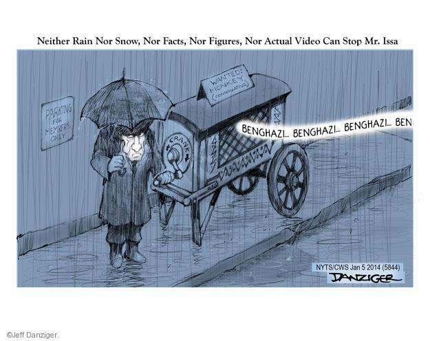 Cartoonist Jeff Danziger  Jeff Danziger's Editorial Cartoons 2014-01-05 republican politician