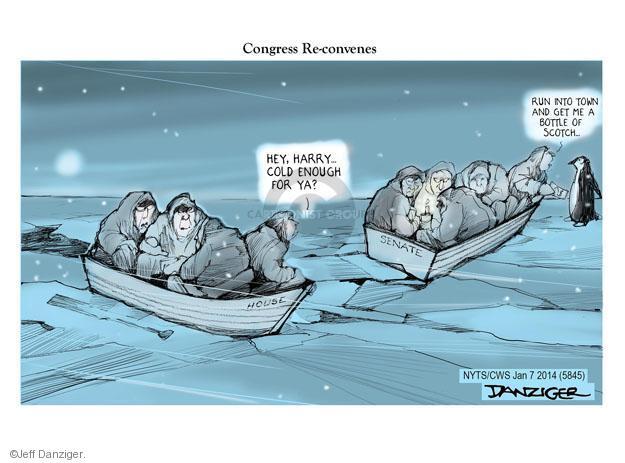 Jeff Danziger  Jeff Danziger's Editorial Cartoons 2014-01-07 congressional