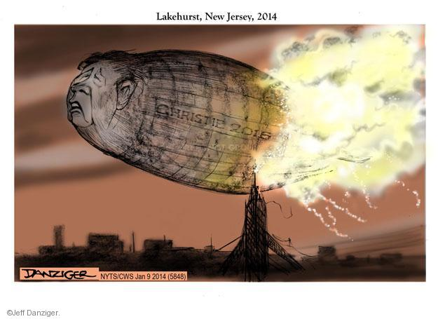Cartoonist Jeff Danziger  Jeff Danziger's Editorial Cartoons 2014-01-09 republican politician