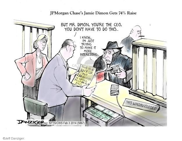 Jeff Danziger  Jeff Danziger's Editorial Cartoons 2014-02-03 salary