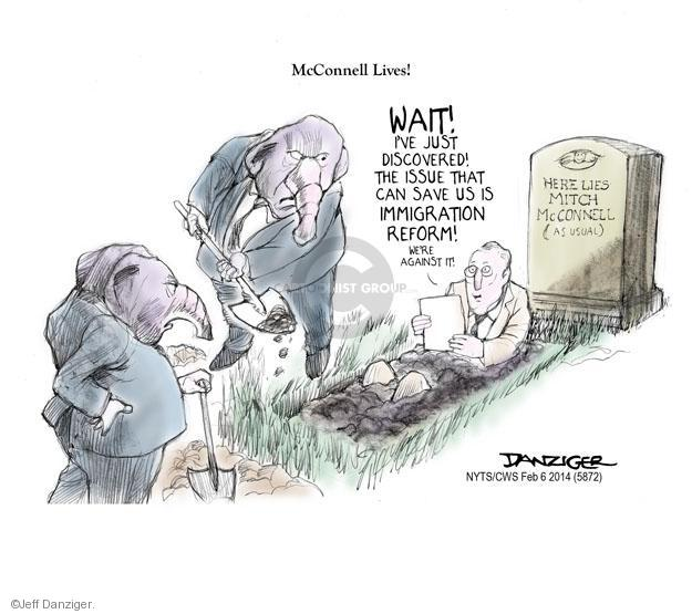 Cartoonist Jeff Danziger  Jeff Danziger's Editorial Cartoons 2014-02-06 reform