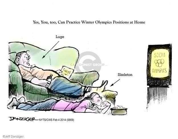 Jeff Danziger  Jeff Danziger's Editorial Cartoons 2014-02-07 2014 Olympics