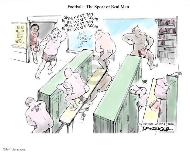 Cartoonist Jeff Danziger  Jeff Danziger's Editorial Cartoons 2014-02-10 athletics