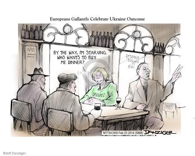 Cartoonist Jeff Danziger  Jeff Danziger's Editorial Cartoons 2014-02-24 leadership
