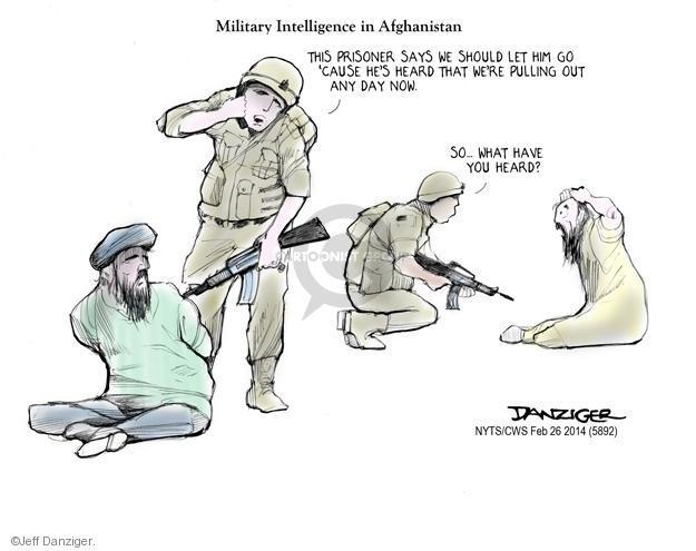 Jeff Danziger  Jeff Danziger's Editorial Cartoons 2014-02-26 Afghan