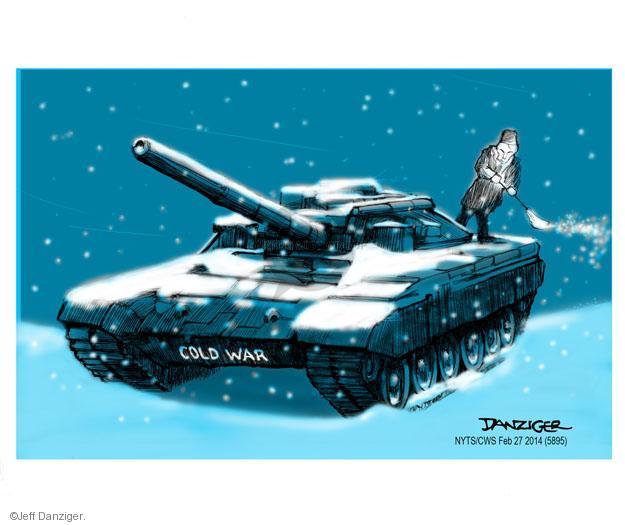 Cartoonist Jeff Danziger  Jeff Danziger's Editorial Cartoons 2014-02-28 century