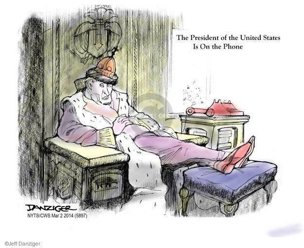 Cartoonist Jeff Danziger  Jeff Danziger's Editorial Cartoons 2014-03-02 American