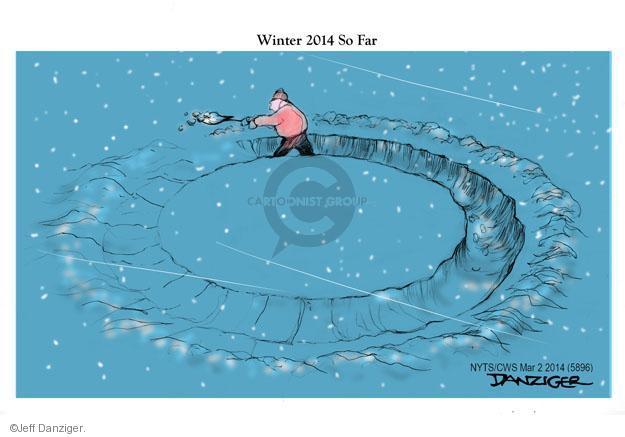 Cartoonist Jeff Danziger  Jeff Danziger's Editorial Cartoons 2014-03-02 storm