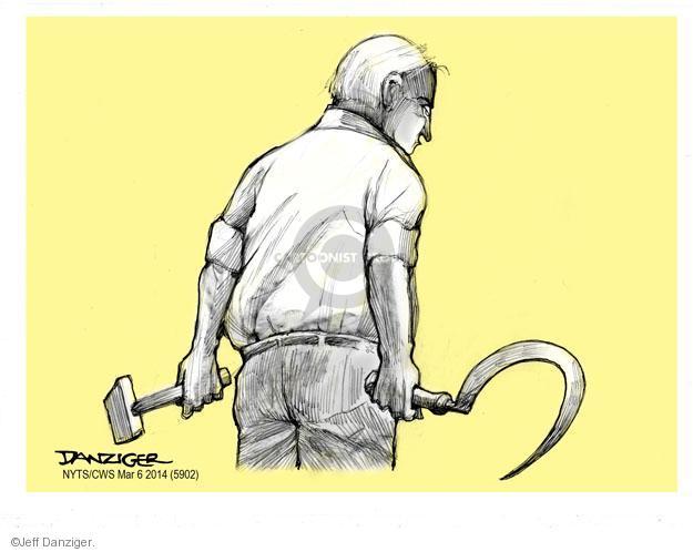 Cartoonist Jeff Danziger  Jeff Danziger's Editorial Cartoons 2014-03-06 Soviet Union