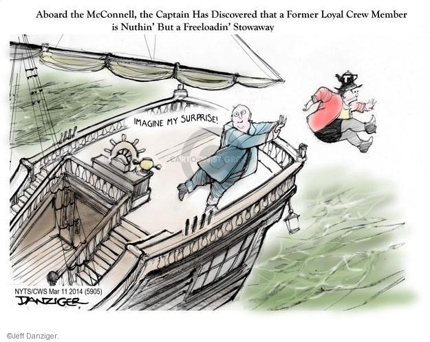 Jeff Danziger  Jeff Danziger's Editorial Cartoons 2014-03-11 Mitch McConnell