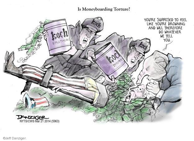 Jeff Danziger  Jeff Danziger's Editorial Cartoons 2014-03-21 Koch brothers