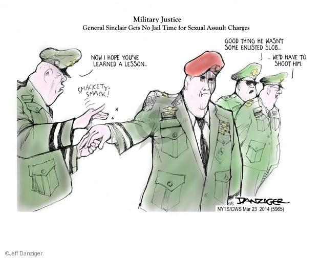 Jeff Danziger  Jeff Danziger's Editorial Cartoons 2014-03-23 armed forces