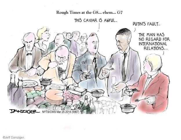 Cartoonist Jeff Danziger  Jeff Danziger's Editorial Cartoons 2014-03-25 American